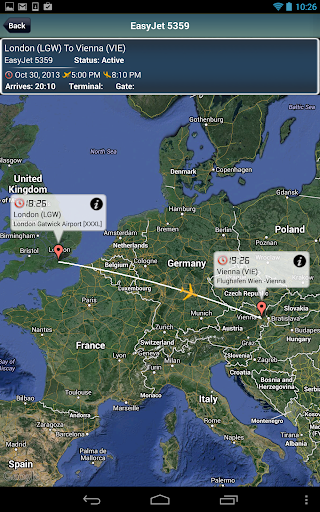 Vienna Airport+Flight Tracker