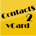 Contacts2VCF icon