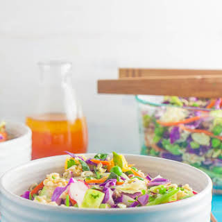 Asian Cabbage Ramen Salad.
