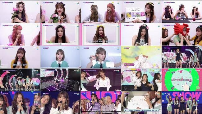 190416 (720p+1080i) IZONE Part – SBS MTV The Show