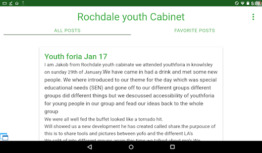 Rochdale youth Voice- screenshot thumbnail