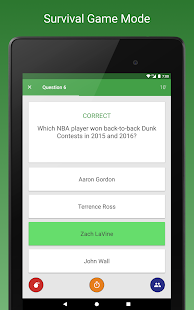 Sports Fan Quiz - NFL, NBA, MLB, NHL, FIFA +- screenshot thumbnail