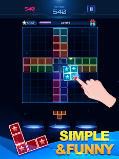 Download Glow Block Puzzle: Free Color Jewel Games 2019 For PC Windows and Mac apk screenshot 7