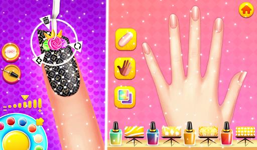 Nail makeup Kit: Fashion doll girls games 2020 apkdebit screenshots 7