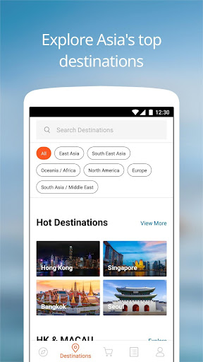 Screenshot for Klook: Travel Activities, Day Trips & Guided Tours in Hong Kong Play Store