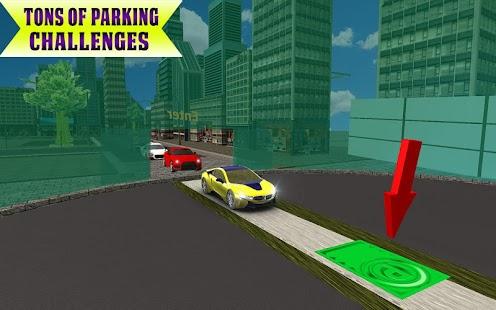 Multi-Level Underground Car Parking Driving School - náhled