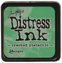Tim Holtz Distress Mini Ink Pad - Cracked Pistachio