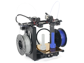 MakerGear M3 Independent Dual Extruder 3D Printer