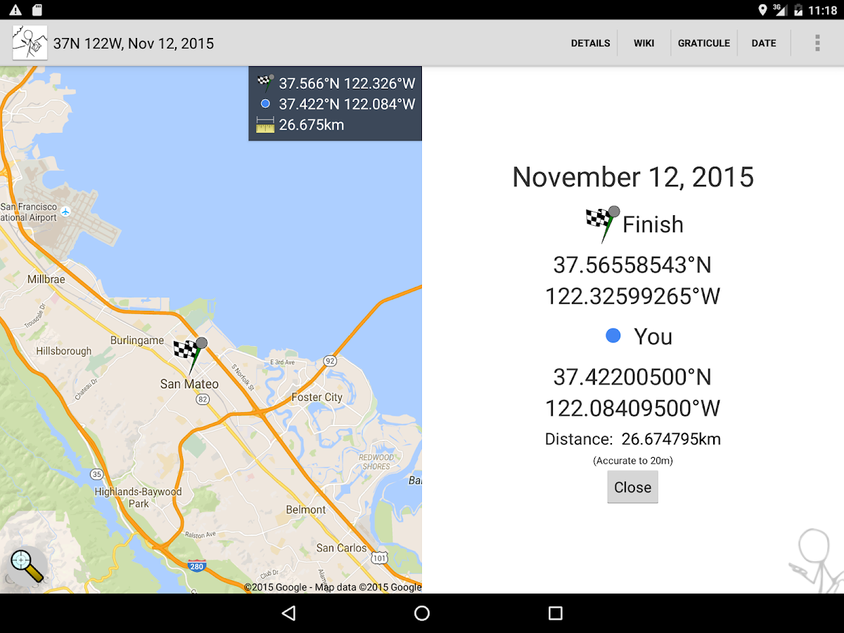 Geohash Droid- screenshot