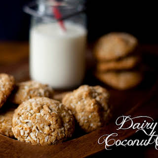 Dairy Free Double Coconut Cookies.