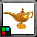 Genie Lamp Make My Wish (like aladdin) icon
