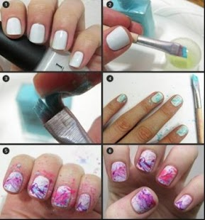 Diy girly nail art android apps on google play diy girly nail art screenshot thumbnail prinsesfo Gallery