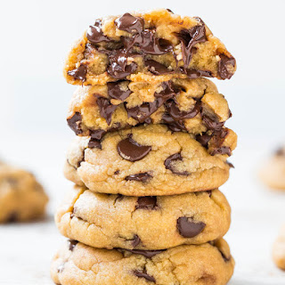 The Best Soft and Chewy Coconut Oil Chocolate Chip Cookies Recipe