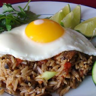 Thai Fried Rice with Soft Yolk Egg