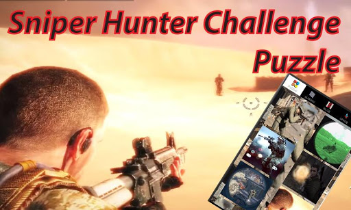 Sniper Hunter Challenge Puzzle