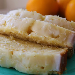 Glazed Meyer Lemon Cake.