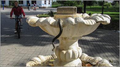 Photo: Parcul Tineretului - fost ornament , fantana stil baroc cu trei etaje  - 2013.09.28