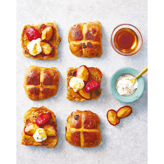 French Toasted Hot Cross Buns.