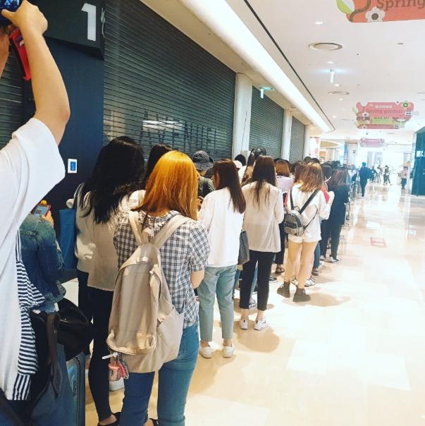 BTS perfume line 1