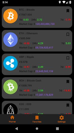 Crypto Tracker screenshot 1