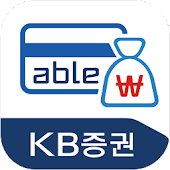 KB증권 'Check able' (able카드/뱅킹)