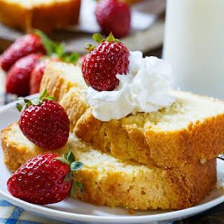 Condensed Milk Pound Cake.