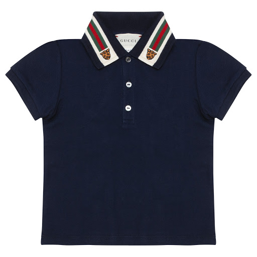 Primary image of Gucci Tiger Collar Baby Top