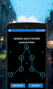 Ingress Glyph Pattern Lock screenshot