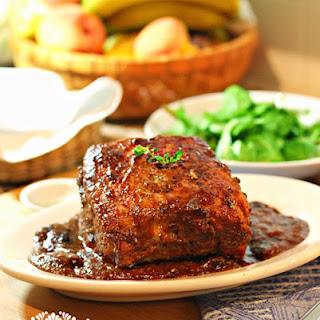 Pork Loin in Prune Sauce Recipe