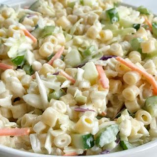 Coleslaw Pasta Salad Recipes.