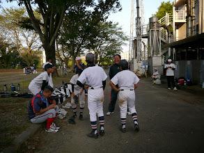 Photo: 打球、速すぎて反応できなかったじゃん!