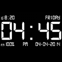Dock Station Digital Clock icon