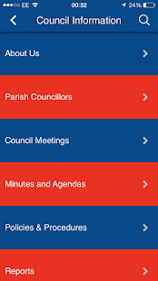 East Goscote Parish Council- screenshot thumbnail