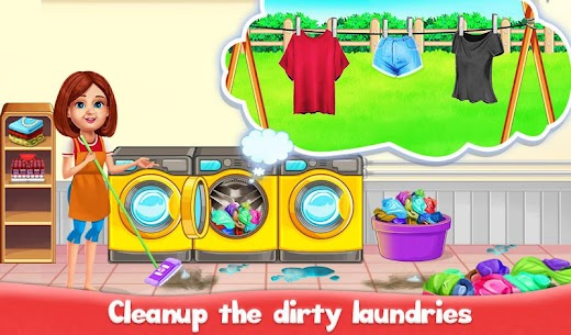 Big Home Cleanup and Wash : House Cleaning Game 4