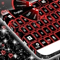 Neon Hearts Keyboard icon