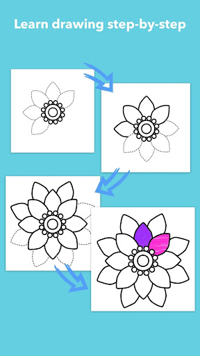 How To Draw Flowers  screenshots 3