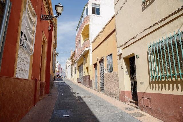 Calle Almanzor tal y como se encuentra actualmente.