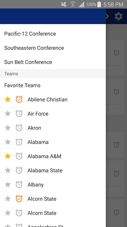 ncaa college football schedule ncaaa football scores