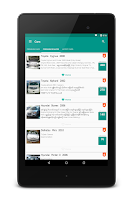 Screenshot of CarsDB - Buy & sell cars