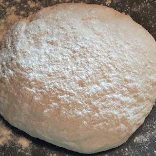 Handmade Pizza Dough.
