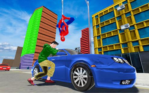 Suç savaşçısı örümcek kahraman Ekran Görüntüsü
