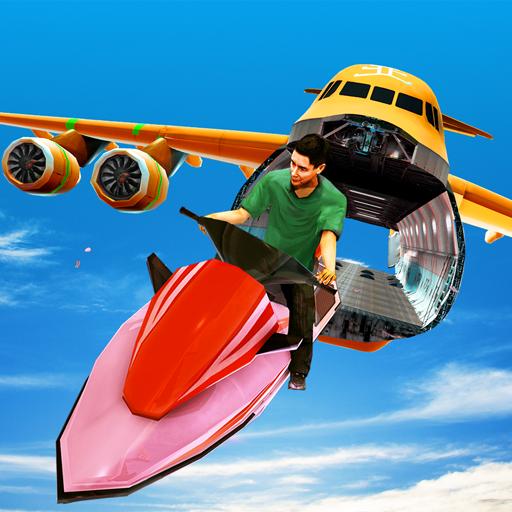 Super Jet Ski, ATV Quad Bike Airplane Stunt Games Android APK Download Free By Desert Safari Studios