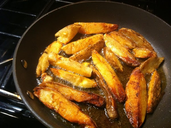 TURN POTATOES TO OTHER CUT SIDE N COOK FOR ADDTL 3 MIN. OR UNTIL...
