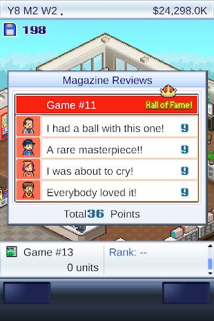 Game Dev Story- screenshot thumbnail