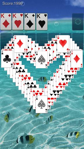 Solitaire: Ocean Blue screenshot