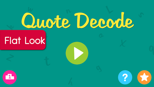 Quotes Decode - Word Game