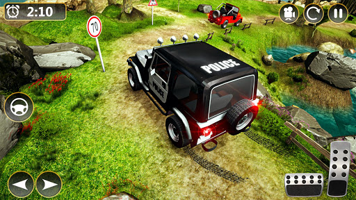 Offroad Police Jeep 4x4 Driving & Racing Simulator 1.7.4 screenshots 1