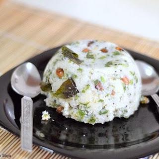 Palak upma recipe - Spinach upma- Easy Breakfast recipes.