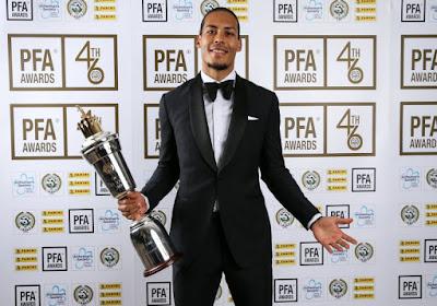 Virgil Van Dijk pas Ballon d'Or, mais récompensé par le public