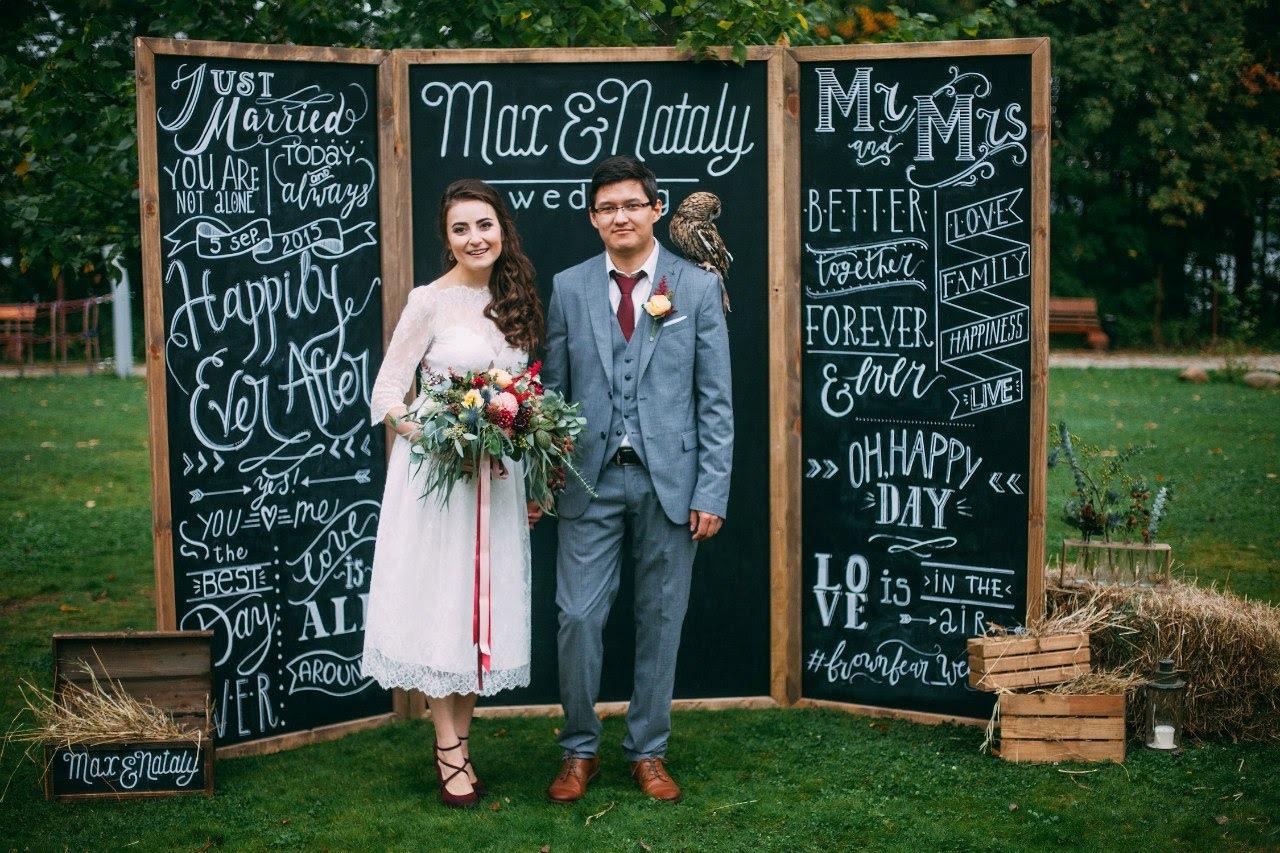доски для свадебных фотографий азиатка помогла своей